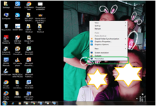 Desktop Background Change