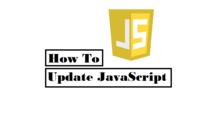JavaScript Update