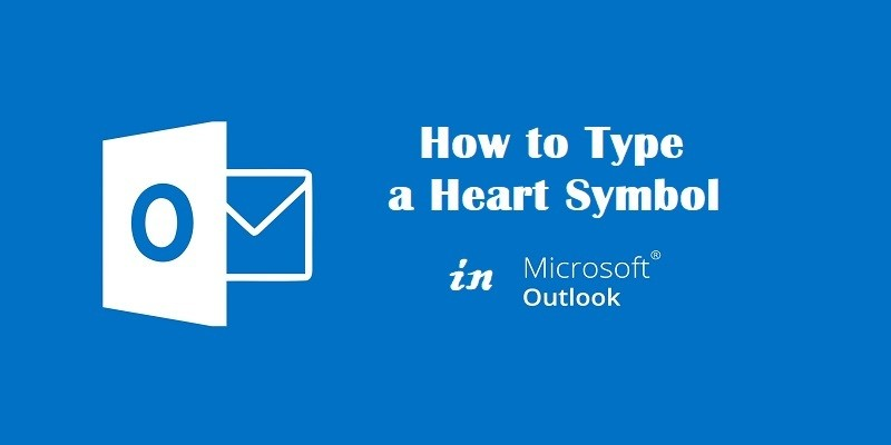Heart Symbol in Microsoft Outlook