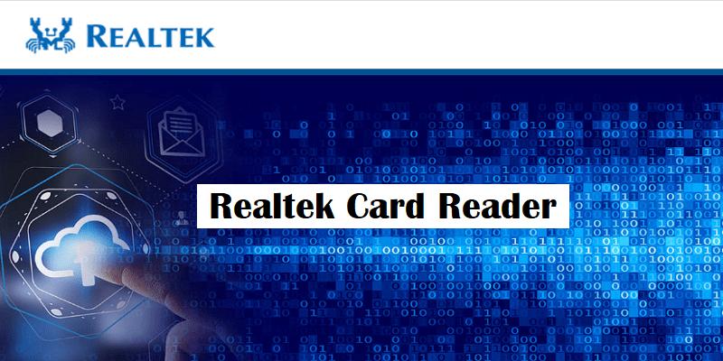 what is realtek card reader